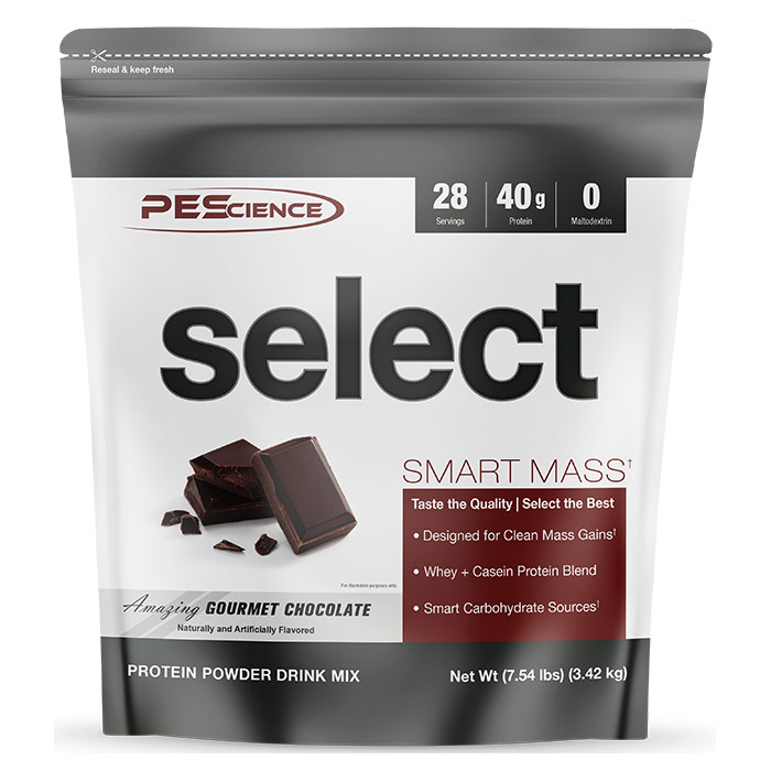 Select Smart Mass 28 Servings Gourmet Chocolate