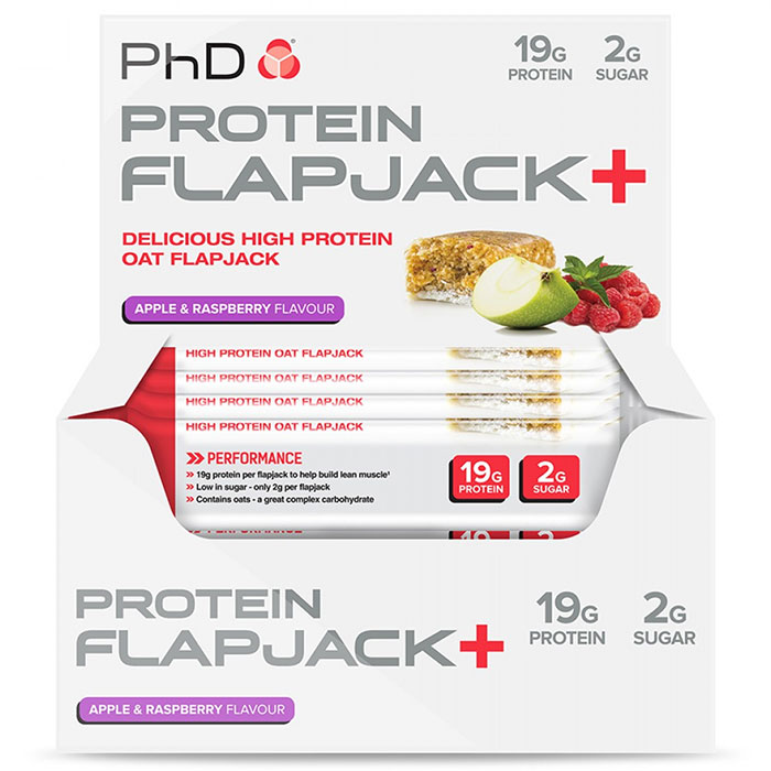 Protein Flapjack + 12 Bars Apple and Raspberry