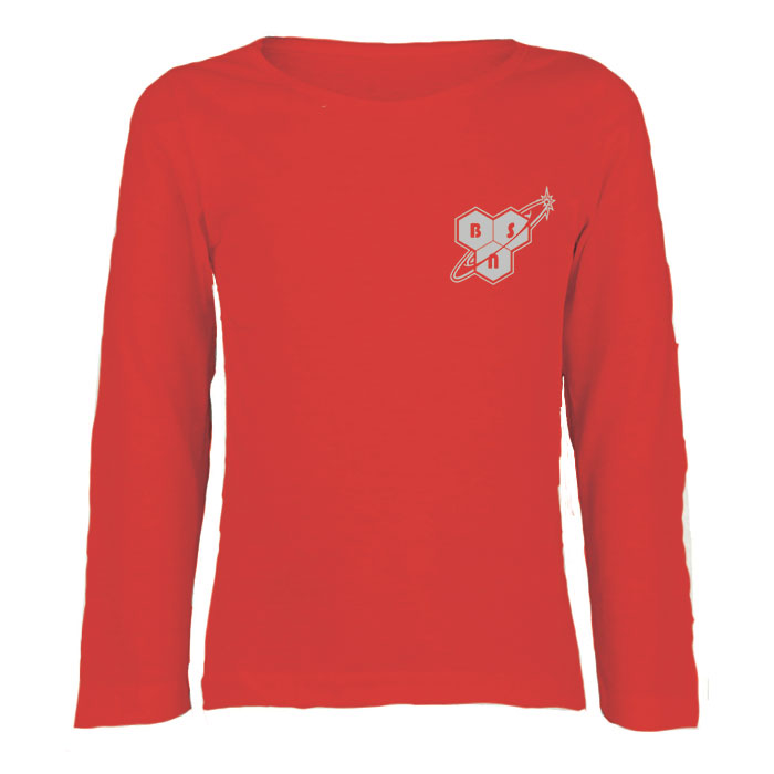 Image of BSN BSN Long Sleeve Top Size Large