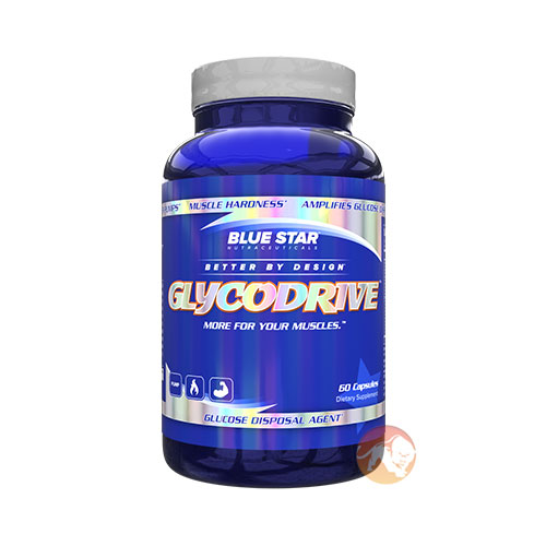 Image of Blue Star Nutraceuticals Glycodrive 60 Caps