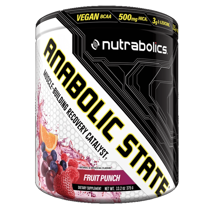 Image of Nutrabolics Anabolic State 30 Servings Fruit Punch