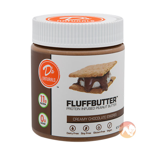 Fluffbutter 284g Creamy Chocolate S'mores