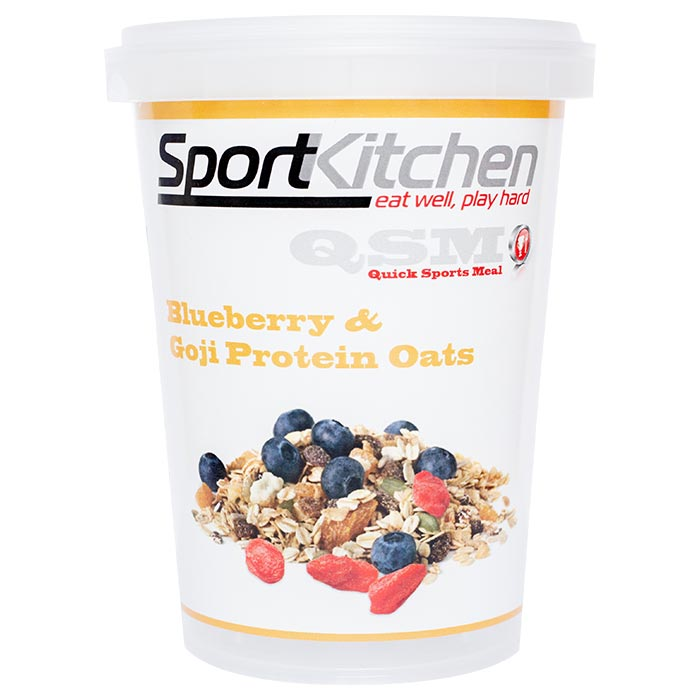 Image of Sports Kitchen Protein Oats Blueberry & Goji 1 Meal
