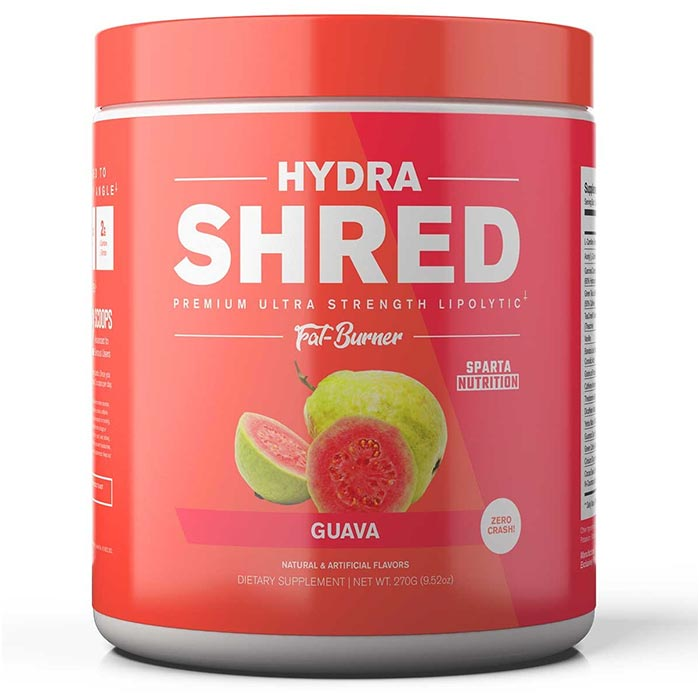 Image of Sparta Nutrition Hydra Shred 60 Servings Guava