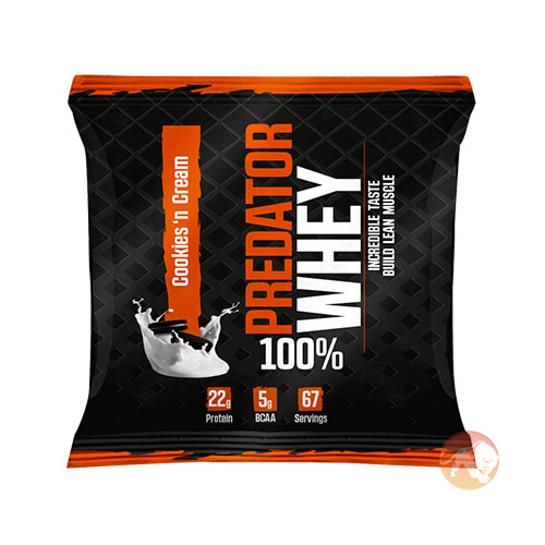Predator Whey Trial Serving Cookies & Cream