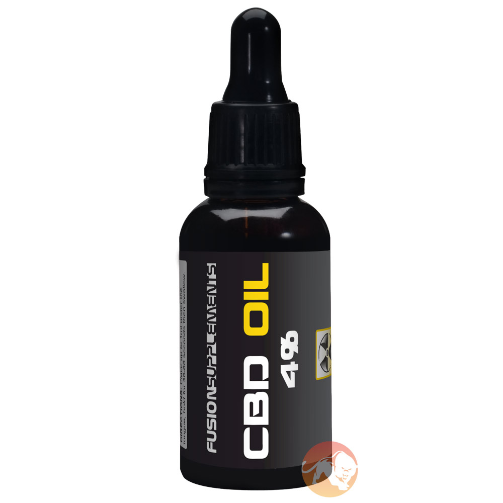 Image of Fusion supplements CBD Oil 4% 30ml