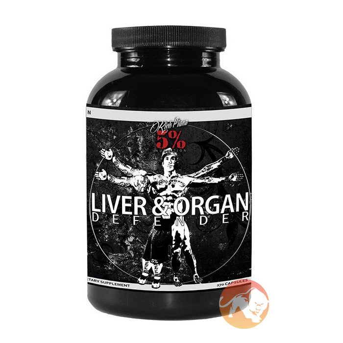 Image of 5% Rich Piana Liver and Organ Defender 270 Caps