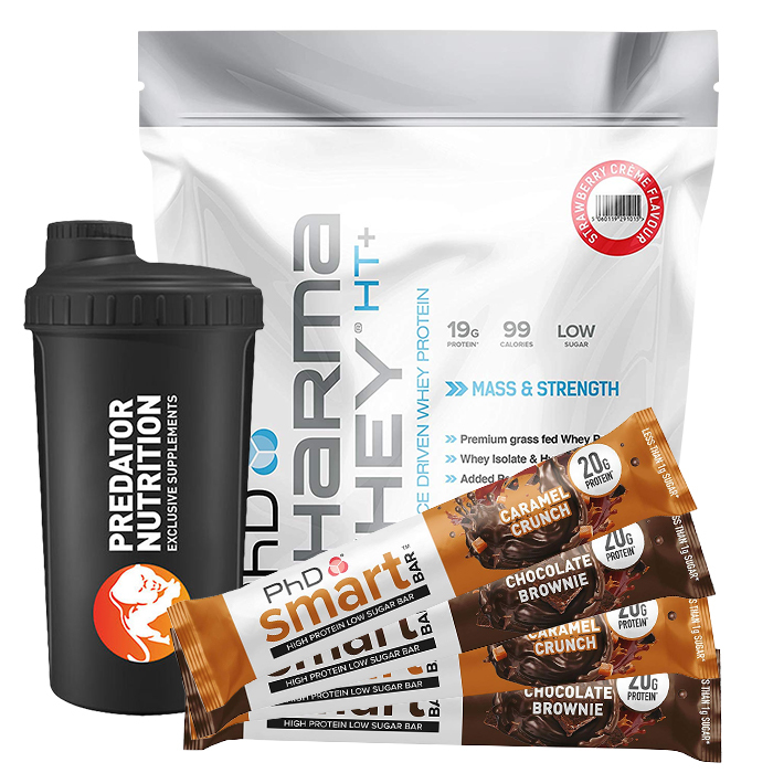 Image of PHD Nutrition Pharma Whey HT+ 3.5kg Chocolate Cookie