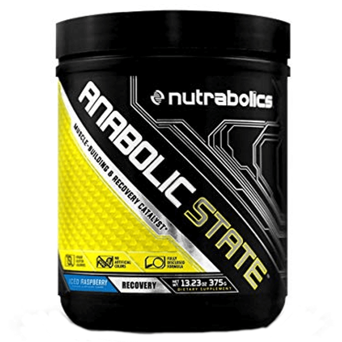 Image of Nutrabolics Anabolic State 30 Servings Iced Raspberry