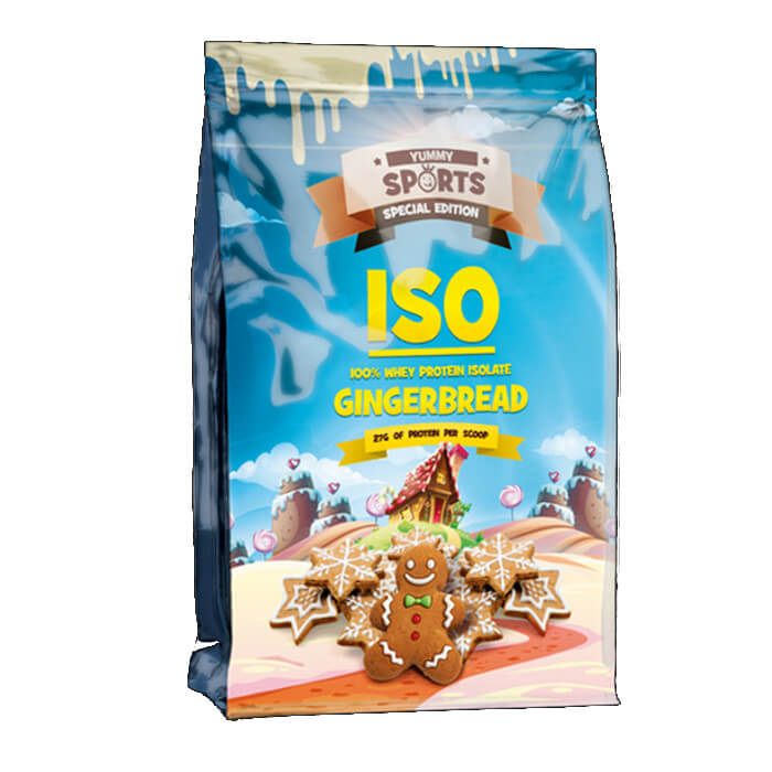 Image of Yummy Sports ISO 454g Gingerbread
