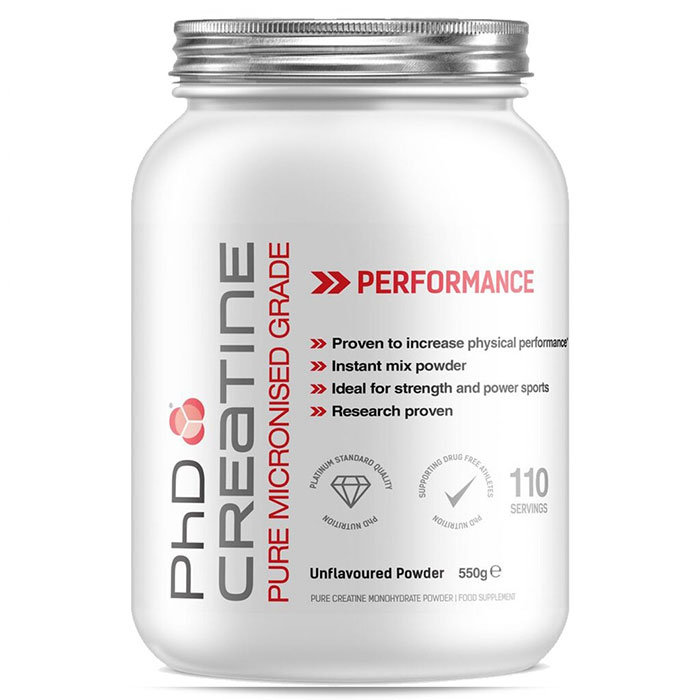 Image of PHD Nutrition Creatine Monohydrate 550g