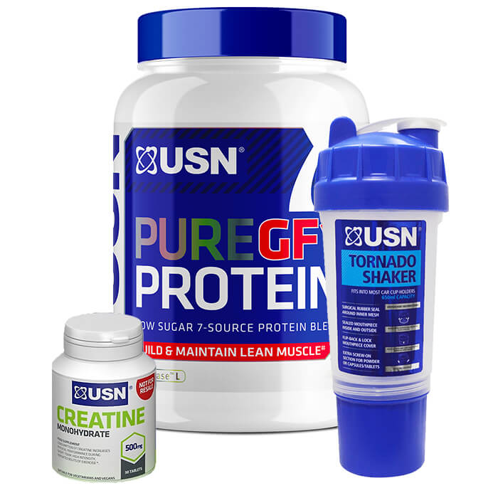 Image of USN Pure Protein GF-1 Chocolate 2kg