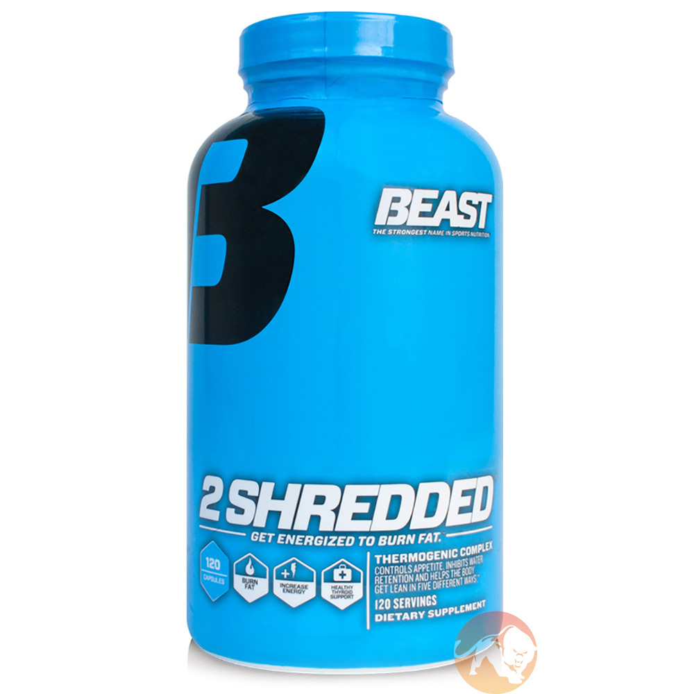 Image of Beast Sports Nutrition Beast 2 Shredded 120 caps