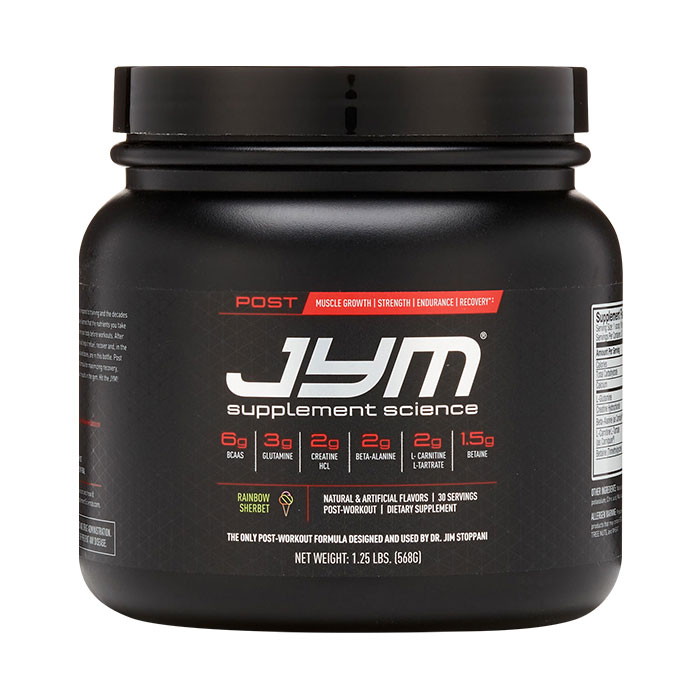 Post JYM Active Matrix 30 Servings Rainbow Sherbert