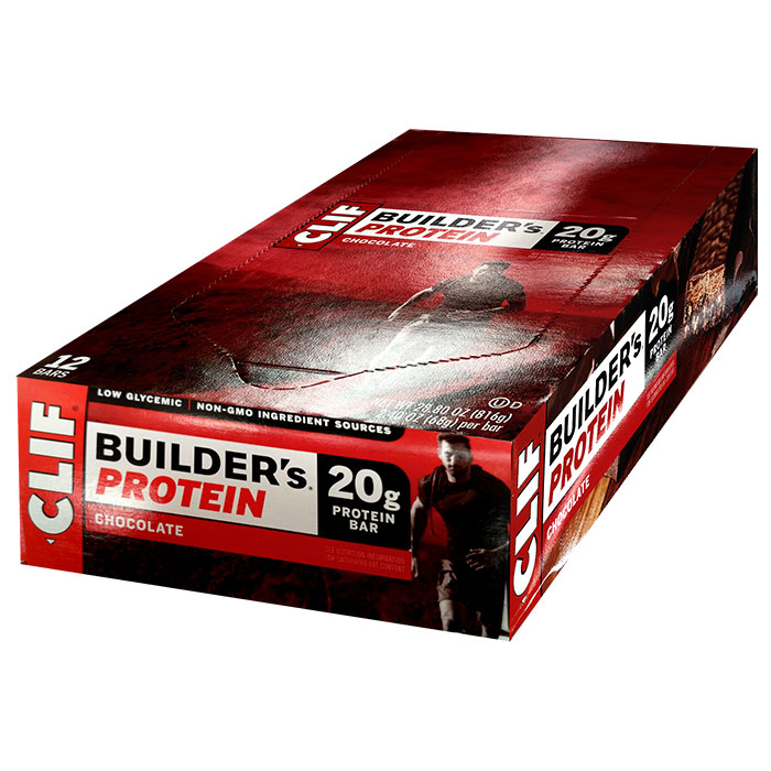 Image of Clif Bar Builder's Bar 12 Bars Chocolate