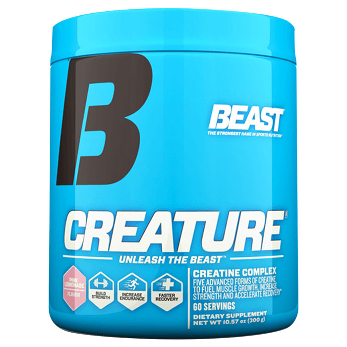 Creature Powder 60 Servings Pink Lemonade