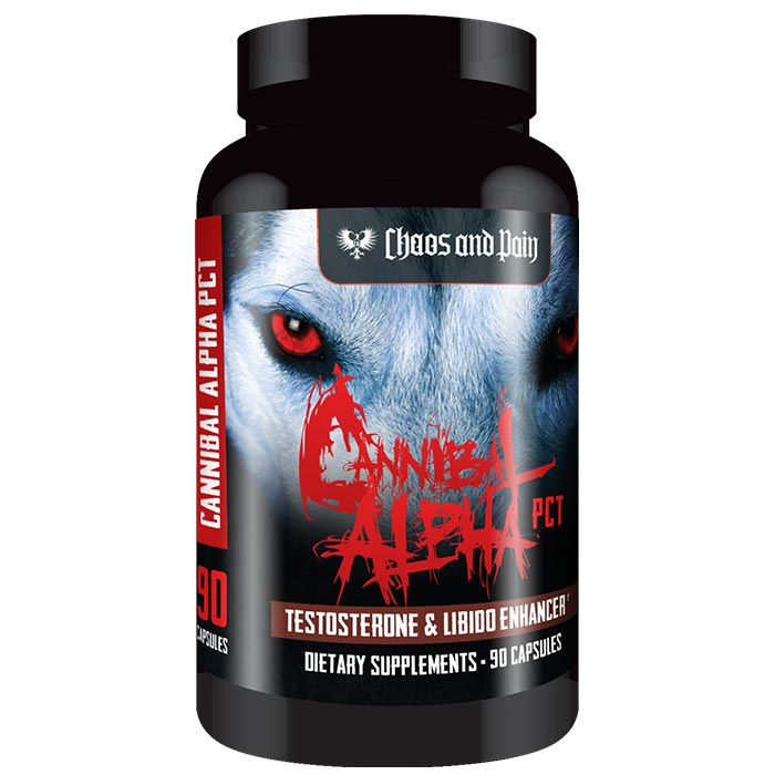 Image of Chaos & Pain Cannibal Alpha Pct 90 Capsules