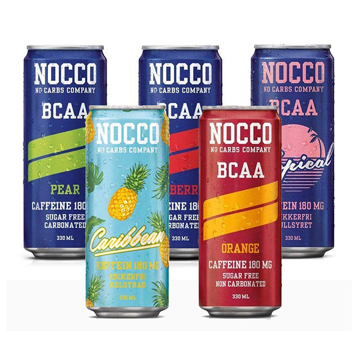 NOCCO BCAA 5 Can Selection