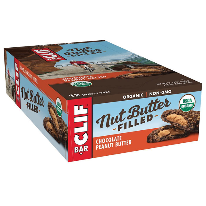Clif Nut Butter Filled Bar 12 Bars Banana Chocolate Peanut Butter