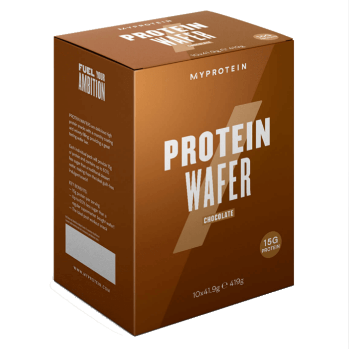 Image of Myprotein Protein Wafers Chocolate 41g x 10