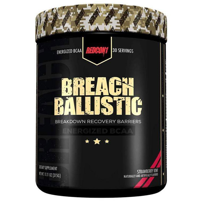 Image of REDCON1 Breach Ballistic 30 Servings Strawberry Kiwi