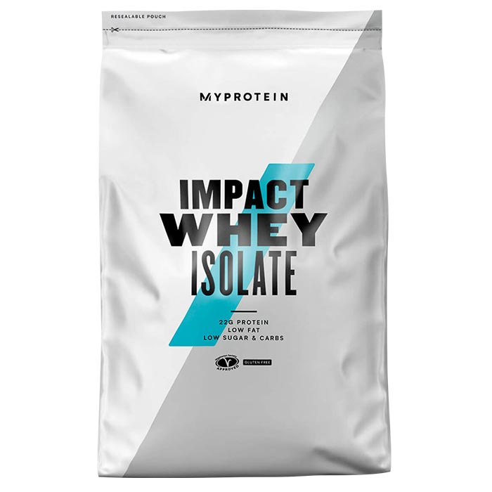 Impact Whey Isolate Natural Strawberry 1KG