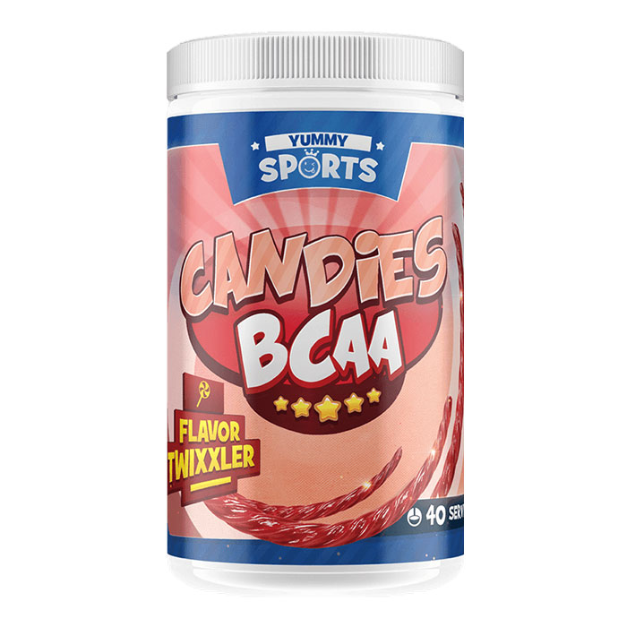 Image of Yummy Sports Candies BCAA 40 Servings Twixxler