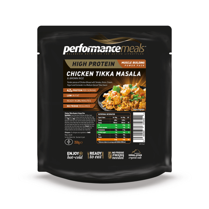 Image of Performance Meals Emergency Performance Meal 1 Serving - Chicken Tikka