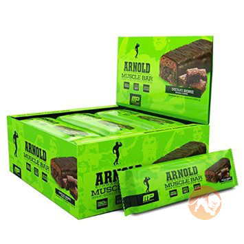 Muscle Bar 12 Bars Chocolate Brownie