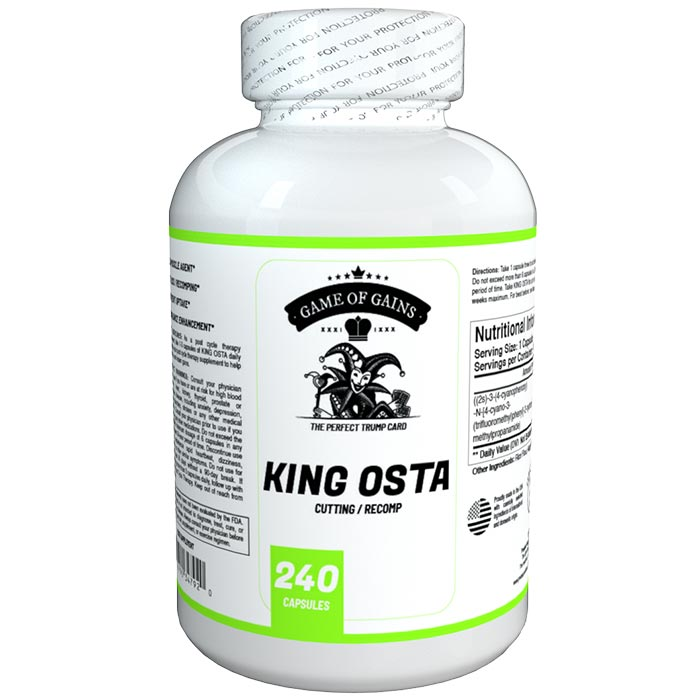 Image of Game Of Gains King Osta 240 Capsules