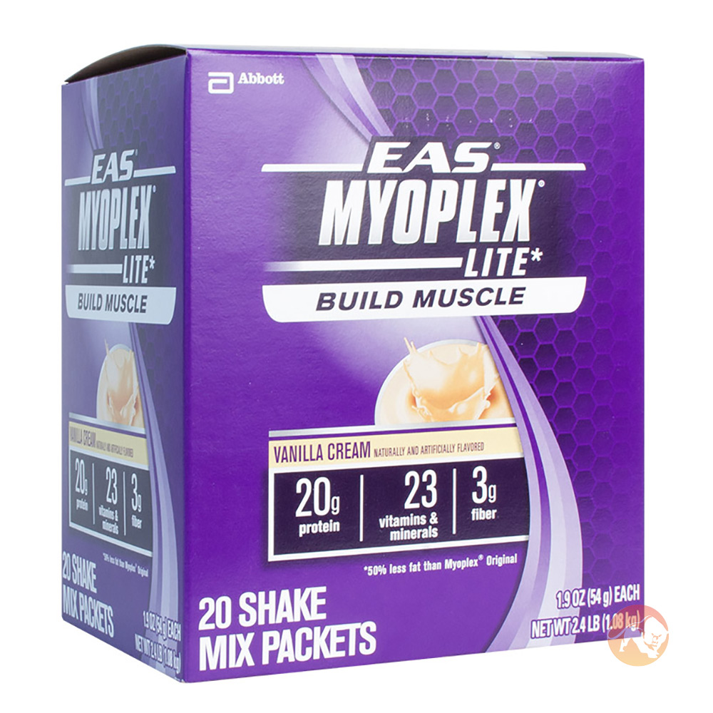 Image of EAS Myoplex Lite 20 Pack Strawberry Cream