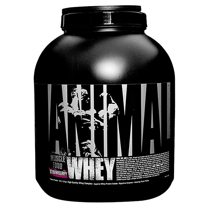 Image of Universal Nutrition Animal Whey 1.8kg Strawberry
