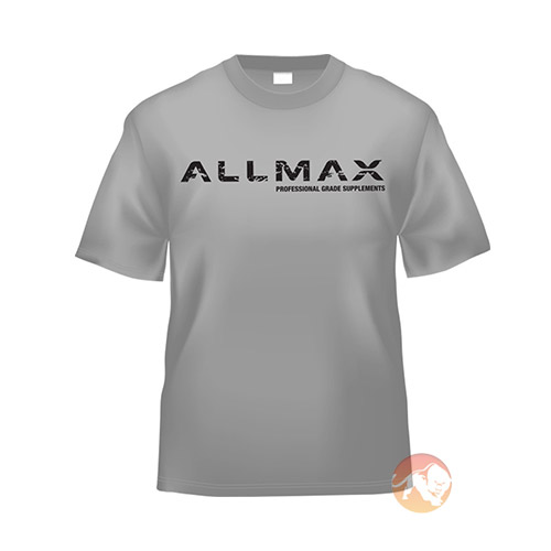Image of Allmax Nutrition Allmax Grey T-Shirt Large