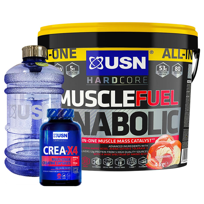 Muscle Fuel Anabolic 4kg Strawberry