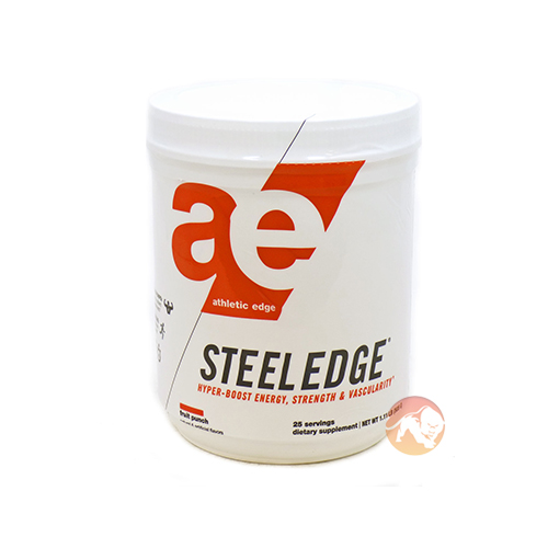 Image of Athletic Edge Nutrition Steel Edge 25 Servings Fruit Punch