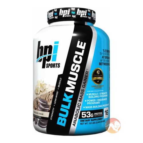 Bulk Muscle 2.64kg Chocolate Peanut Butter