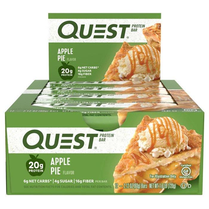 Quest Bars 12 Apple Pie