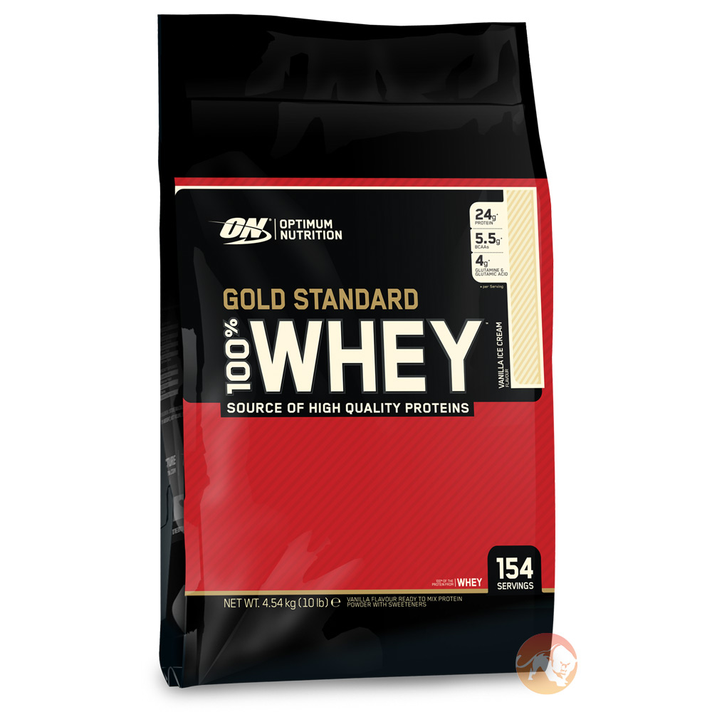 Gold Standard 100% Whey 4.54kg - Vanilla Ice Cream