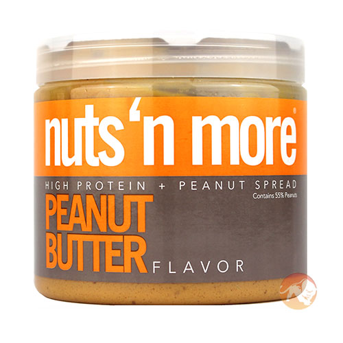Image of Nuts'n more Nuts 'N More Peanut Butter 454g