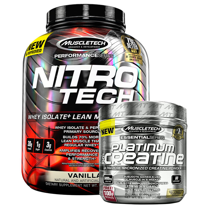 Nitro-Tech Performance Series Cookies and Cream 1.8kg