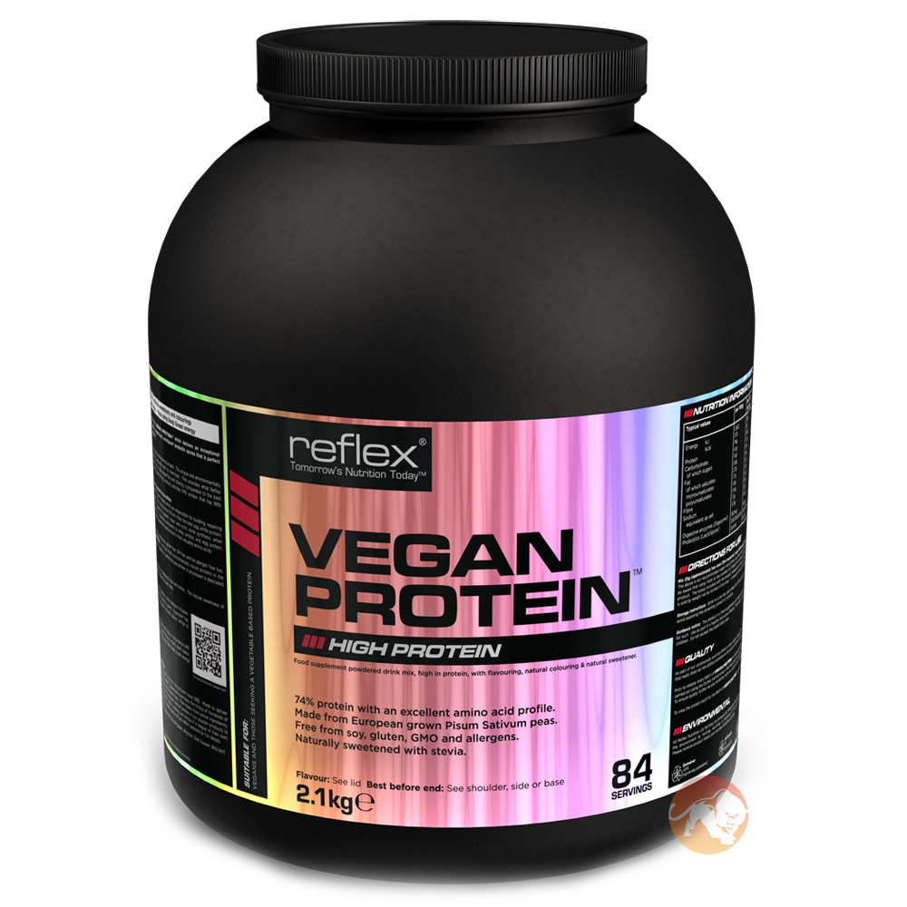 Vegan Protein 2.1kg Strawberry