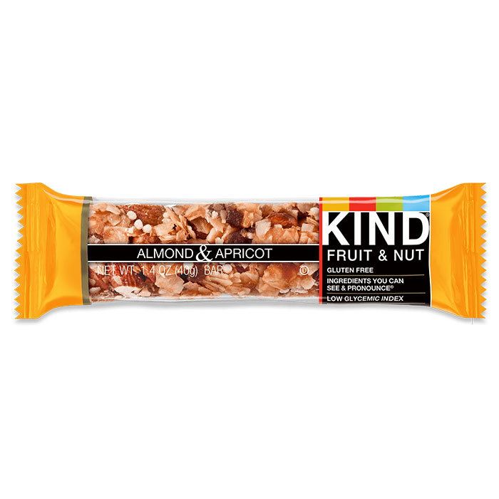 Image of Kind Snacks Kind Bars Fruit and Nut 1 Bar Almond and Apricot