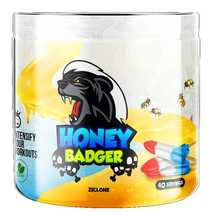 Image of Yummy Sports Honey Badger 40 Servings Ziclone