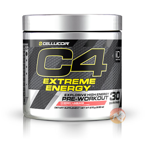C4 Extreme Energy 50 Servings Icy Blue Razz