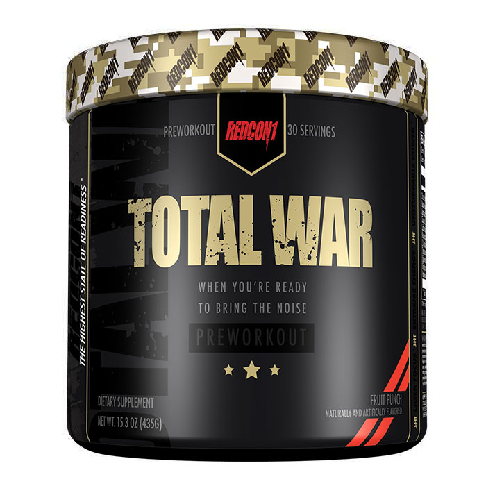 Total War 30 Servings Sour Gummy Bear