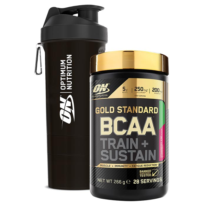 Gold Standard BCAA 28 Servings Strawberry Kiwi