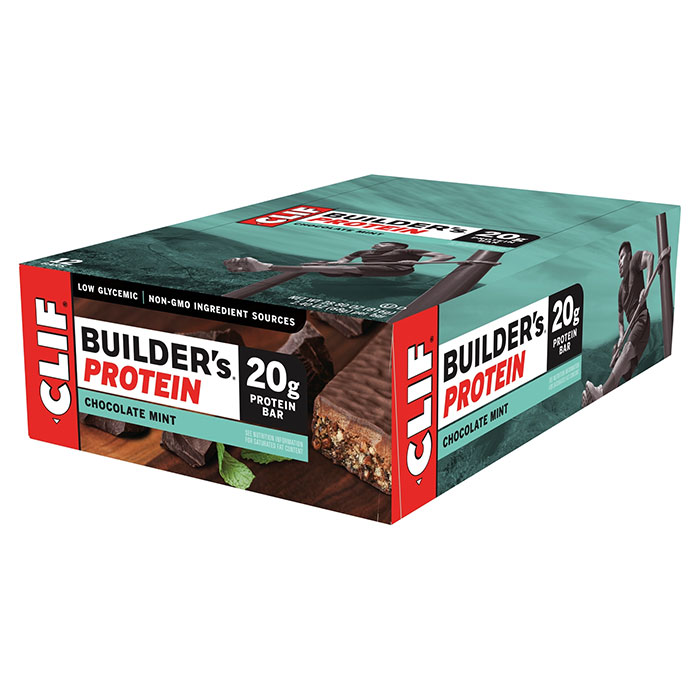 Image of Clif Bar Builder's Bar 12 Bars Chocolate Mint