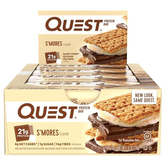 Quest Bars 12 Bars - S'Mores