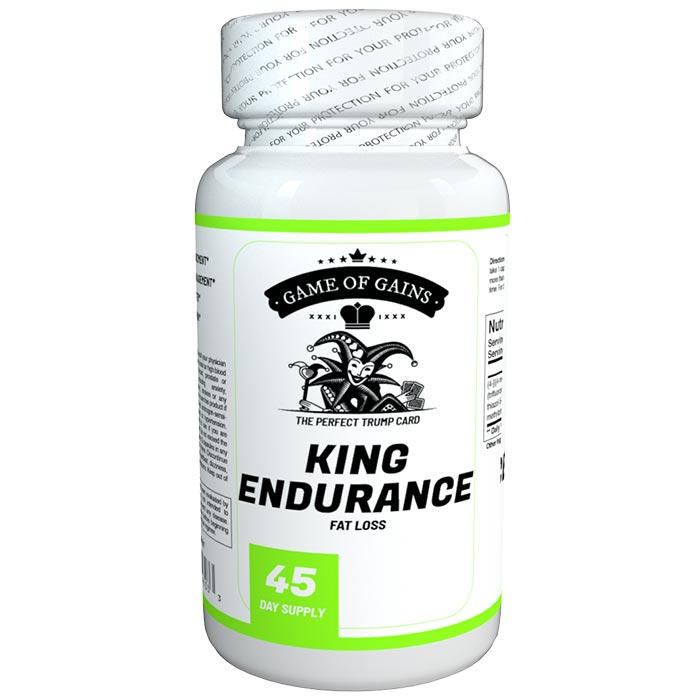 Image of Game Of Gains King Endurance 90 Caps