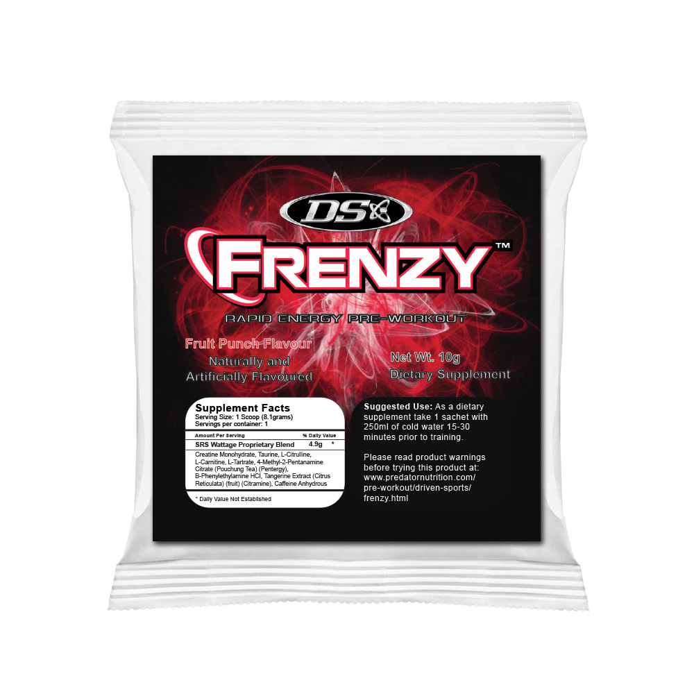 Image of Driven Sports Frenzy Sample Fruit Punch